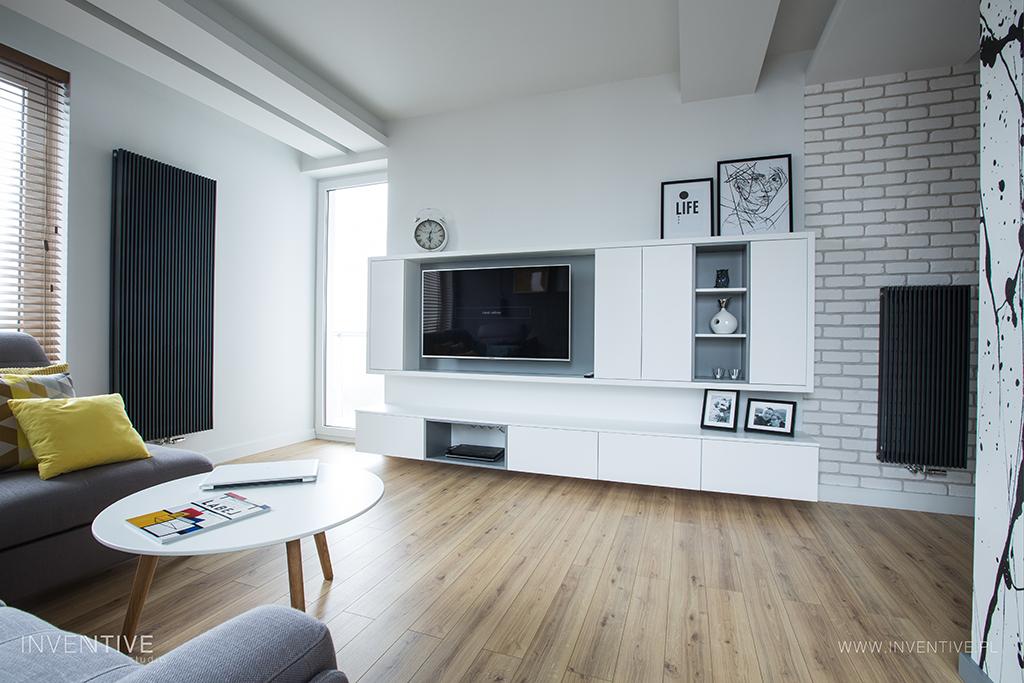 Realizacja mieszkałania inspirowanego stylem skandynawskim
